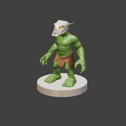Download free 3D printer files Goblin Raider (variant), cody5