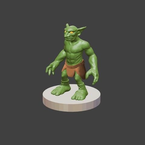 Download free STL Goblin, cody5