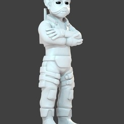 Download free STL Sullustan (Alternate Pose), cody5