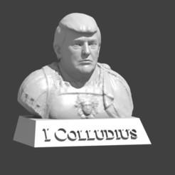 Free 3D print files Trump Bust, cody5