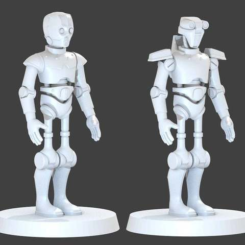 Download free 3D printing models Old Republic Protocol Droids, cody5