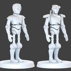 Descargar modelo 3D gratis Droides del Protocolo de la Antigua República, cody5