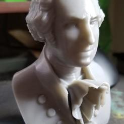 Descargar modelos 3D gratis busto de Washington, cody5