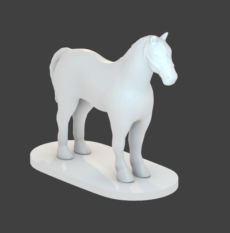 c7da2202001ef3739c67954b4c9dbb31_display_large.jpg Download free STL file Horse • 3D printable template, cody5