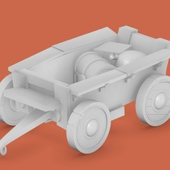 Download free STL file Wagon • 3D printable design, cody5
