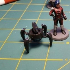 Free 3D printer model Crab Droid, cody5