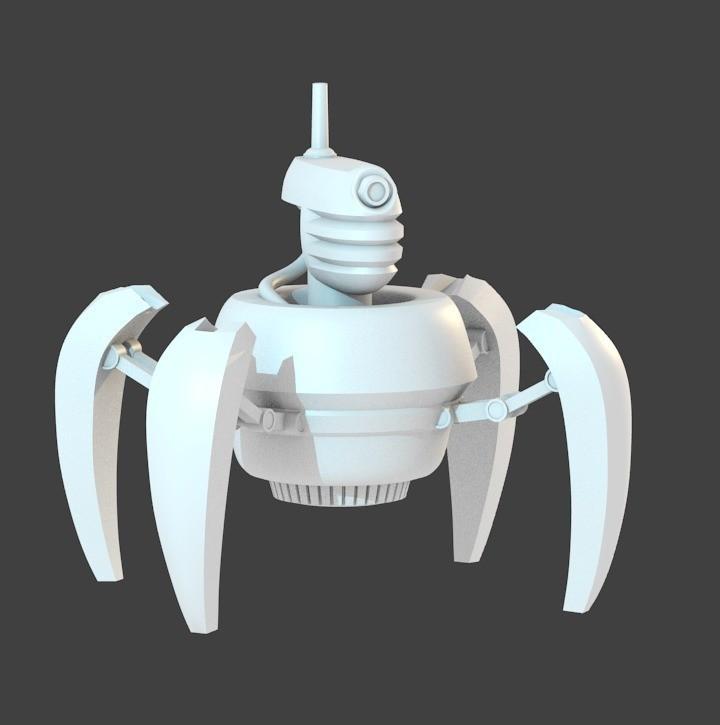 c7da2202001ef3739c67954b4c9dbb31_display_large.jpg Télécharger fichier STL gratuit Droïde de crabe • Design imprimable en 3D, cody5