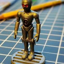 Descargar Modelos 3D para imprimir gratis C3P0 - Protocoloroid, cody5