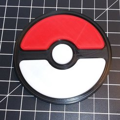 a376d51660dba8cf801dbeeff58d6ec4_display_large.jpg Download free STL file Pokeball Coaster • 3D printable model, cody5