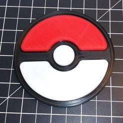 Télécharger objet 3D gratuit Dessous de verre Pokeball, cody5