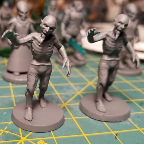 Download free STL file Void Zombie (Starfinder), cody5
