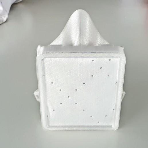 20200321_122128.jpg Download free STL file Covid corona mask - use with vacuum cleaner bag. Easy breathing.  • 3D printing template, mcermak
