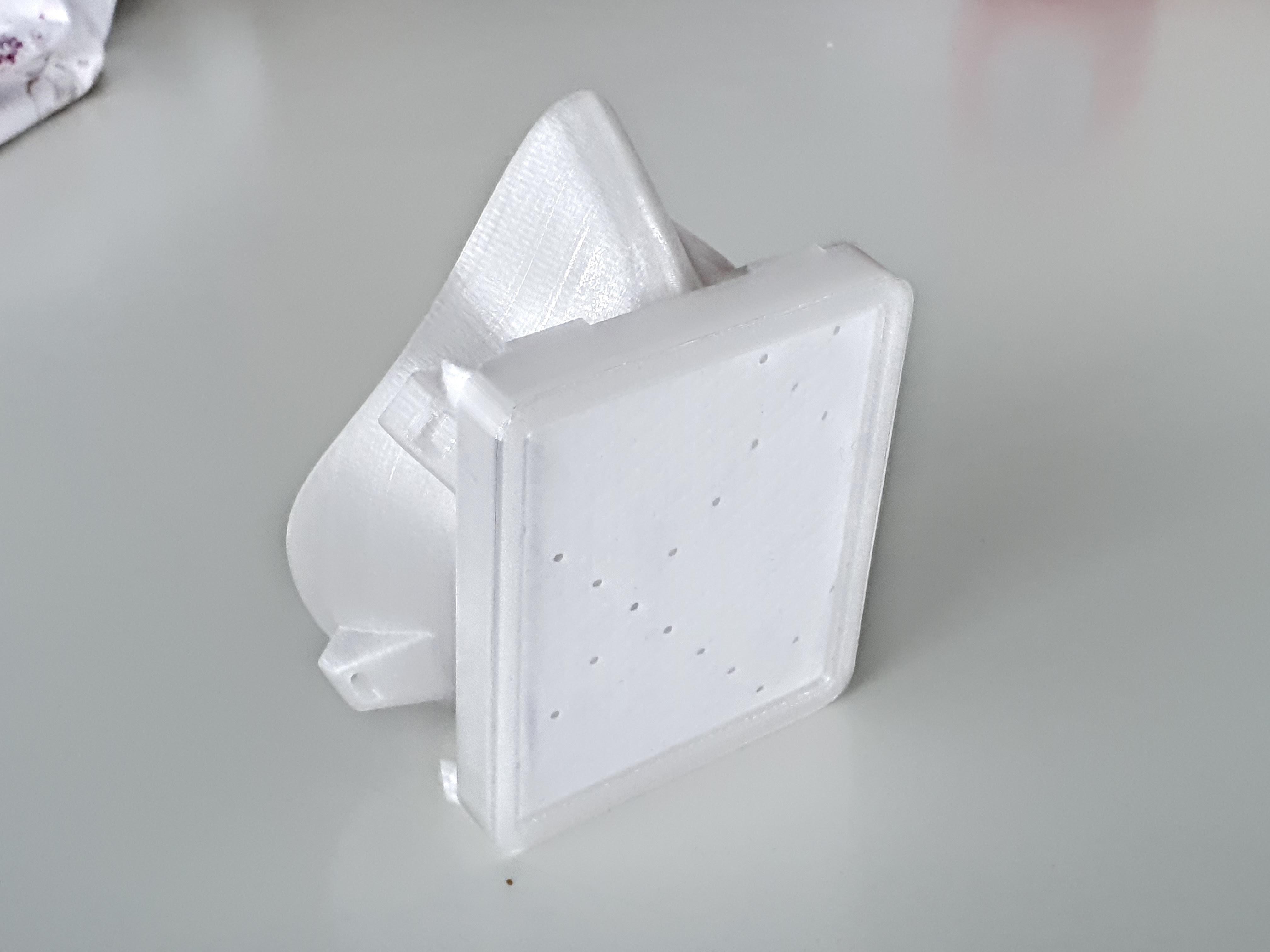 20200321_122104.jpg Download free STL file Covid corona mask - use with vacuum cleaner bag. Easy breathing.  • 3D printing template, mcermak