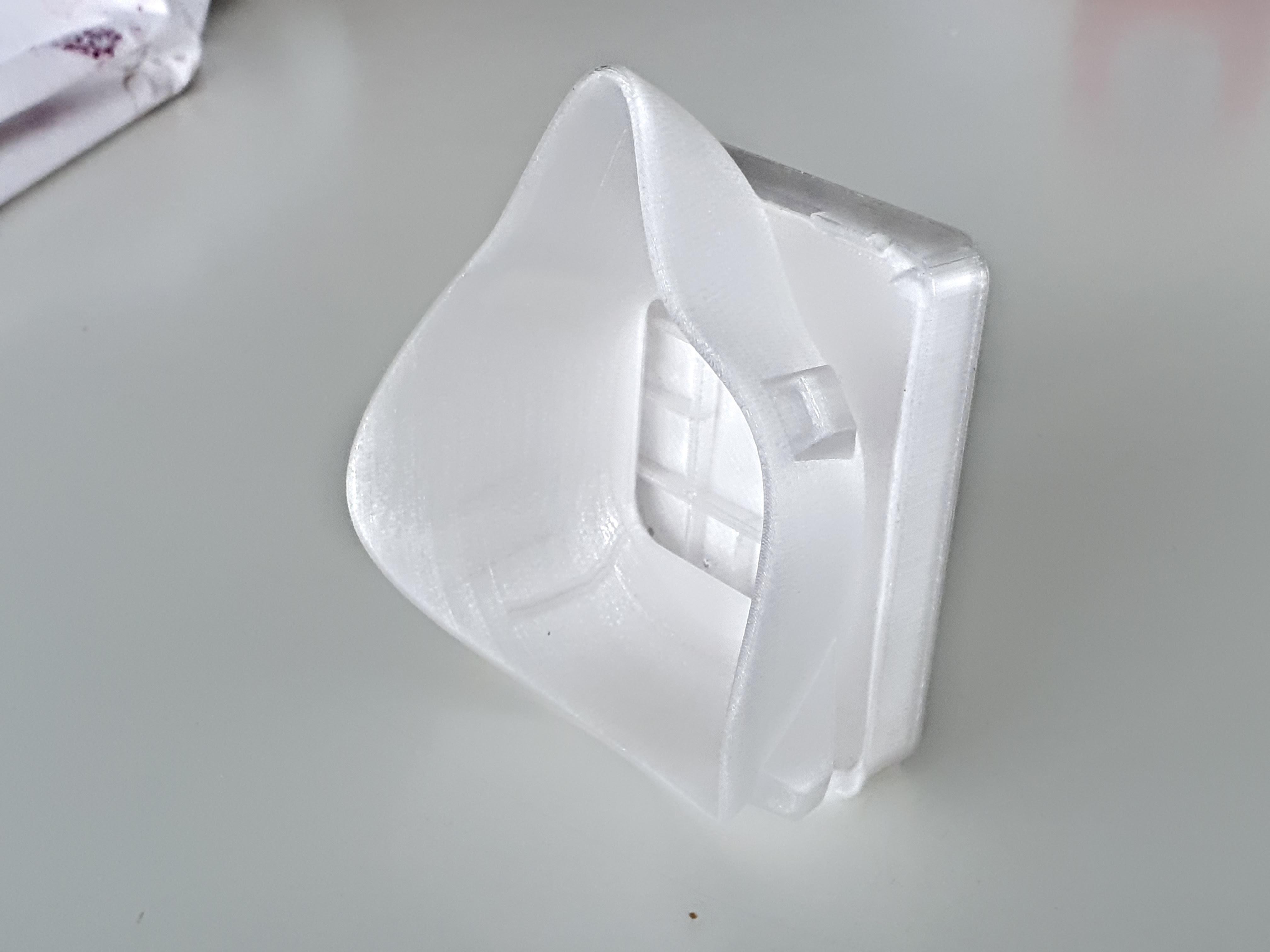 20200321_122113.jpg Download free STL file Covid corona mask - use with vacuum cleaner bag. Easy breathing.  • 3D printing template, mcermak