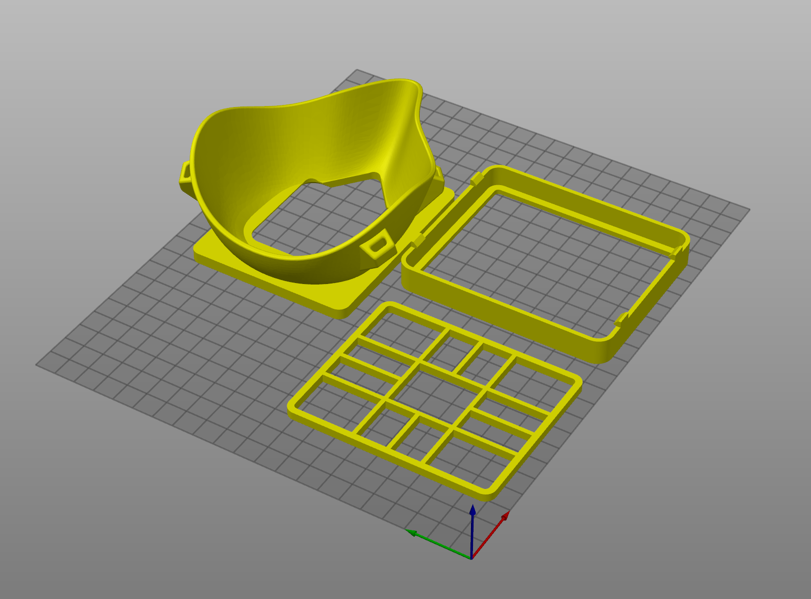 Poznámka 2020-03-21 134907.png Download free STL file Covid corona mask - use with vacuum cleaner bag. Easy breathing.  • 3D printing template, mcermak