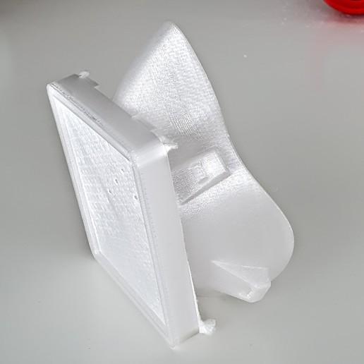 20200321_122045.jpg Download free STL file Covid corona mask - use with vacuum cleaner bag. Easy breathing.  • 3D printing template, mcermak