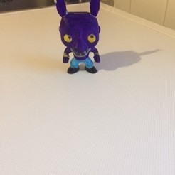 b1.jpg Download STL file beerus funko pop • 3D printing template, fredefils