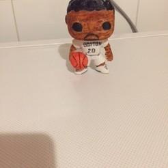 1.jpg Download STL file basketball player • 3D print template, fredefils