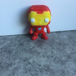 Plan imprimante 3D Iron Man , fredefils