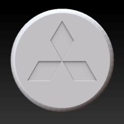 Download STL file MITSUBISHI PILL BOX • 3D printer template, SpaceCadetDesigns