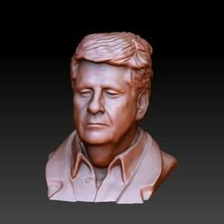 2.jpg Download STL file Man Head Bust • 3D printing template, SpaceCadetDesigns