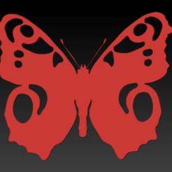Screen Shot 2020-09-08 at 14.56.20.png Télécharger fichier STL Le papillon paon • Objet imprimable en 3D, SpaceCadetDesigns