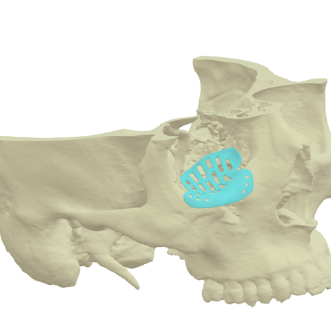 Free 3D model test, OMX