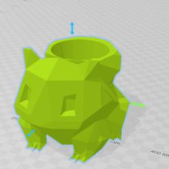 Mate Bulbasaur.png Download STL file Mate Bulbasaur Geometrico • 3D printing model, nahueloggioni