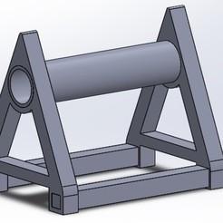 Download free STL Tin Spool Support, nahueloggioni