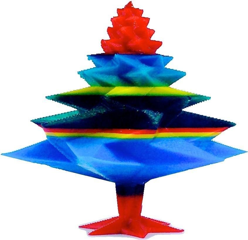 IMG_8445_display_large.jpg Download free STL file Christmas Tree • Template to 3D print, Slagerqod