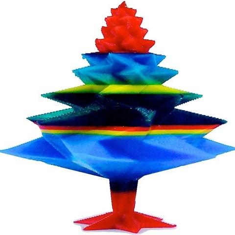 IMG_8445_display_large.jpg Télécharger fichier STL gratuit Arbre de Noël • Objet pour impression 3D, Slagerqod