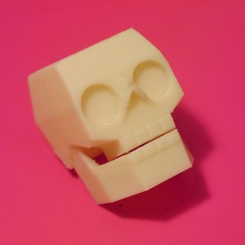Download free STL file Skull • 3D printable model, Slagerqod