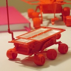 Free 3D printer model Mars Rover : Sojourner, Slagerqod