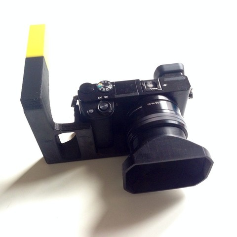 Download free 3D printing files Best Hand Stand for Sony a6000, Slagerqod