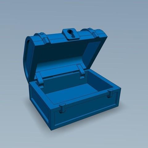 image_display_large.jpg Download free STL file Pirates Chest • 3D printable model, Slagerqod