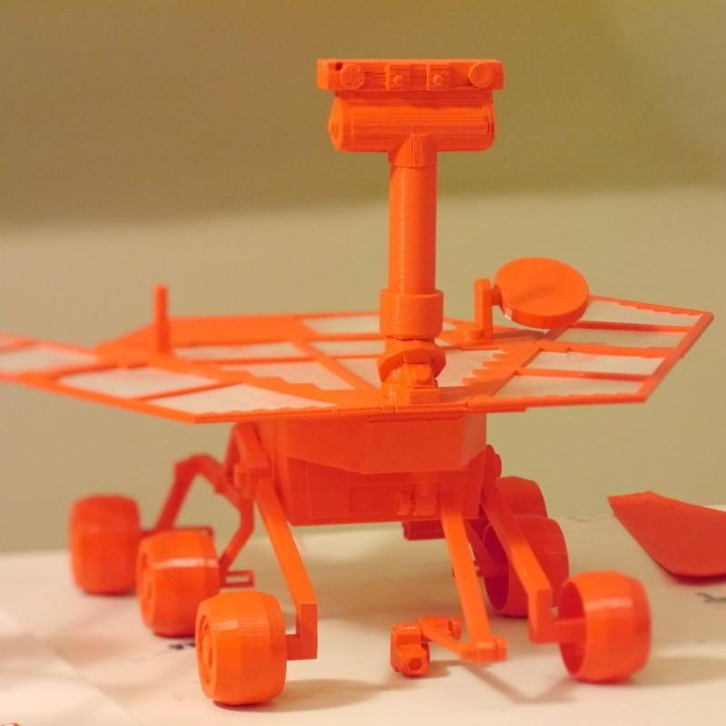 P1020702_display_large.jpg Télécharger fichier STL gratuit Mars Rover : Opportunité • Plan à imprimer en 3D, Slagerqod