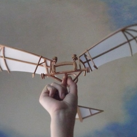 Download free STL file Leonardo Da Vinci - Ornithoper • Design to 3D print, Slagerqod