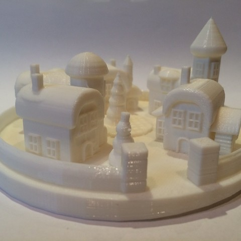 image111_display_large.JPG Download free STL file The village where the christmas elves living. • 3D printable template, Slagerqod