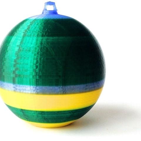 Free 3D print files Christmas Bomb, Slagerqod