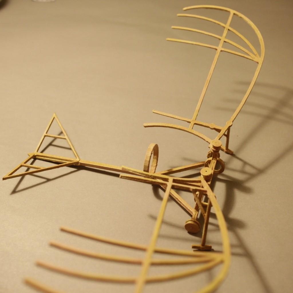 _MG_5630_display_large.jpg Download free STL file Leonardo Da Vinci - Ornithoper • Design to 3D print, Slagerqod