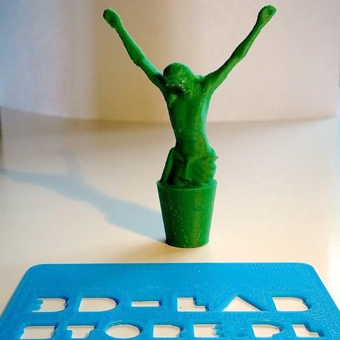 IMG_6776_display_large.jpg Download free STL file JESUS 3d lab print - cork for wine • 3D printing design, Slagerqod
