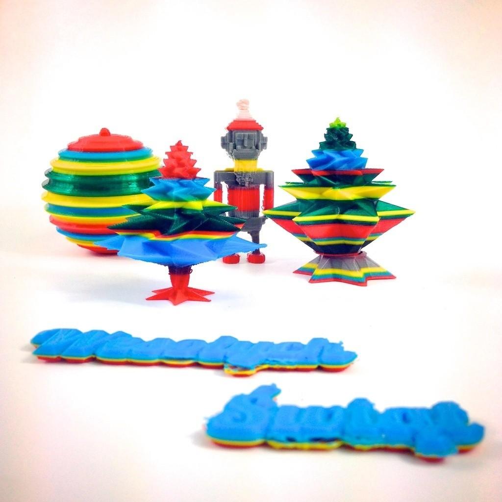 IMG_8418_display_large.jpg Download free STL file 8 bit Santa Claus • 3D printable object, Slagerqod