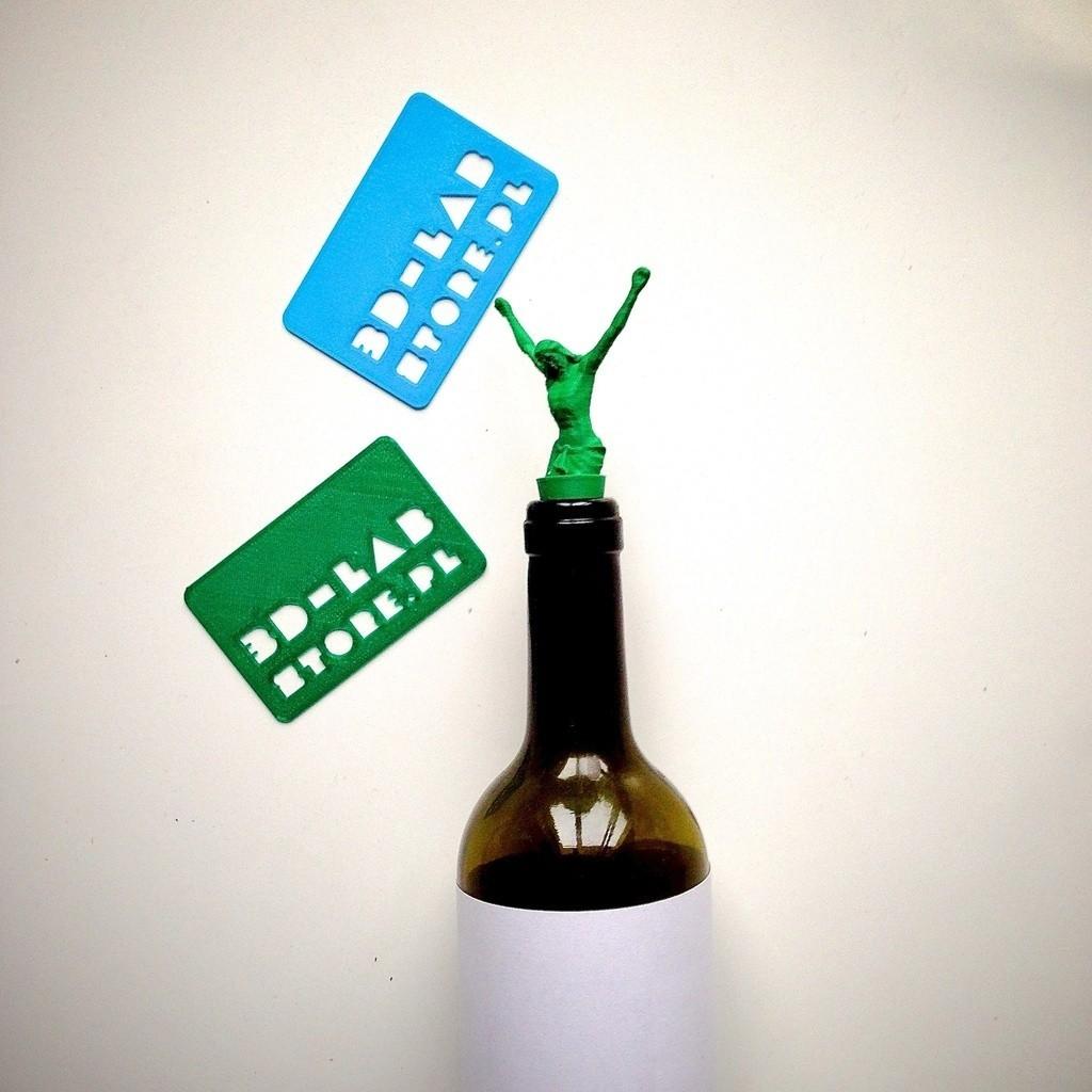 IMG_6781_display_large.jpg Download free STL file JESUS 3d lab print - cork for wine • 3D printing design, Slagerqod