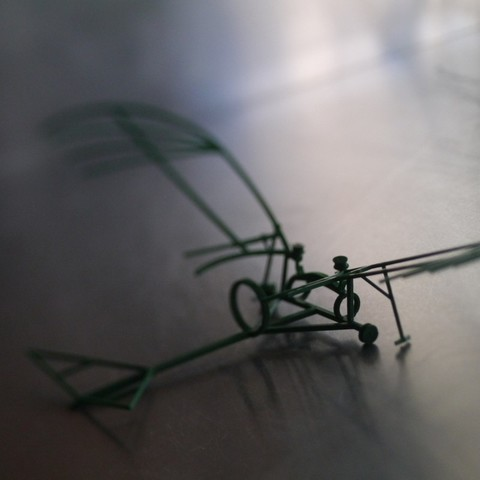 P1030208_display_large.jpg Download free STL file Leonardo Da Vinci - Ornithoper • Design to 3D print, Slagerqod