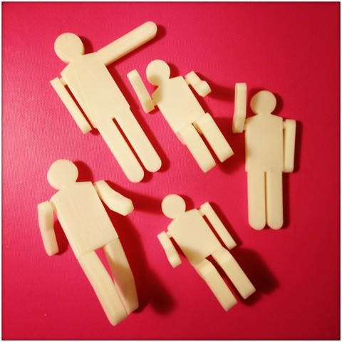 Download free 3D printer templates Figures, Slagerqod