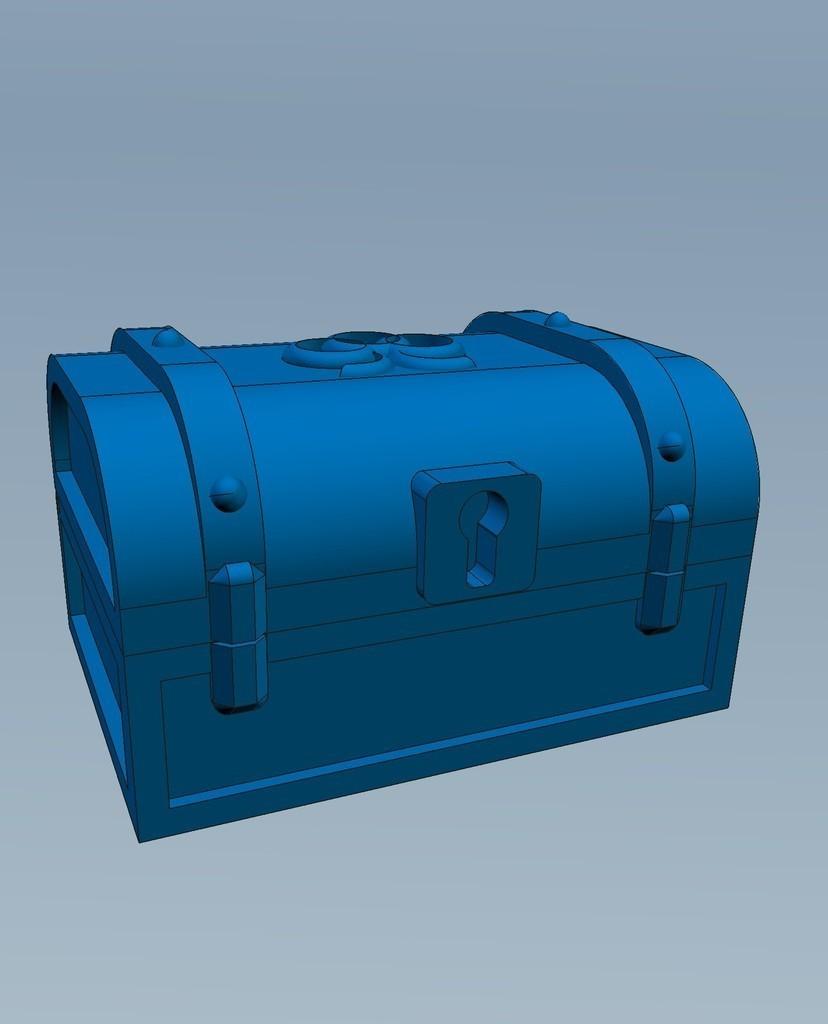 2_display_large.jpg Download free STL file Pirates Chest • 3D printable model, Slagerqod