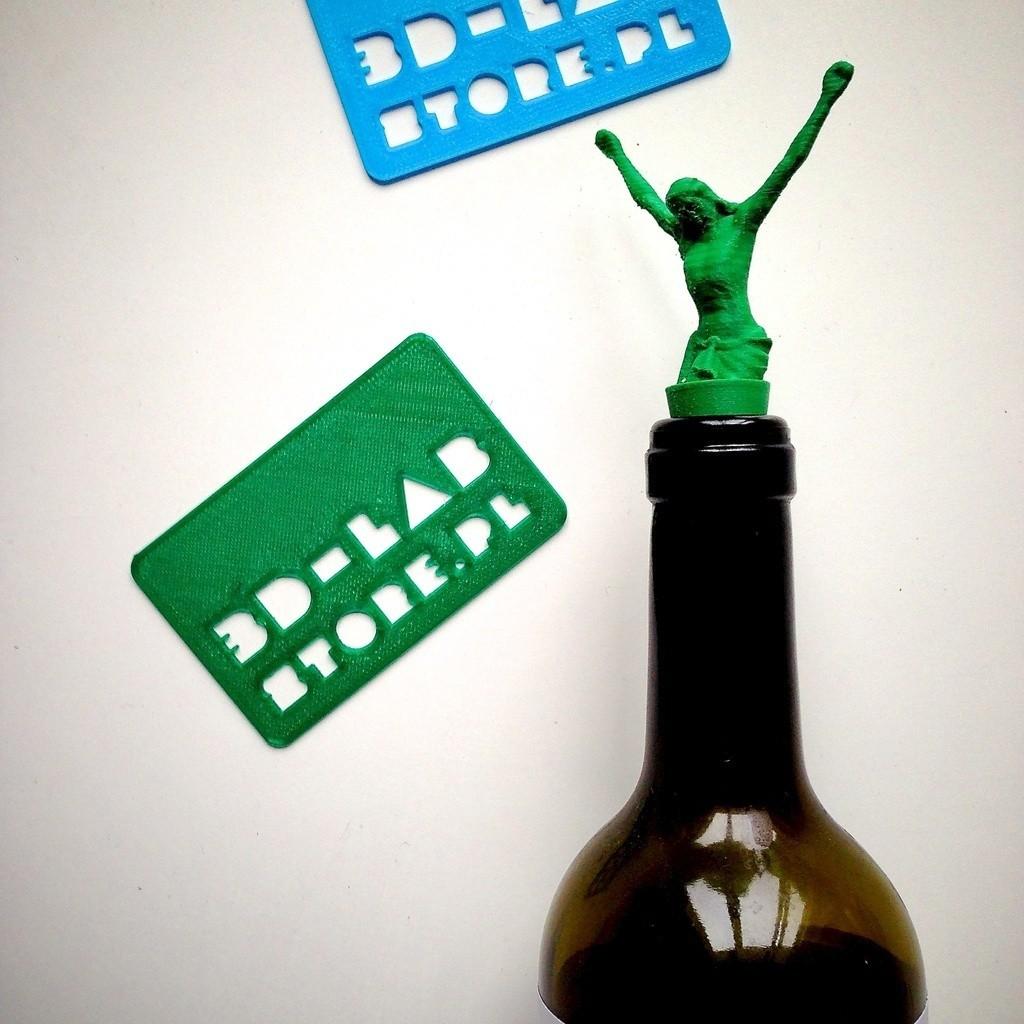 IMG_6778_display_large.jpg Download free STL file JESUS 3d lab print - cork for wine • 3D printing design, Slagerqod