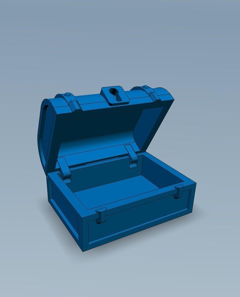 3_display_large.jpg Download free STL file Pirates Chest • 3D printable model, Slagerqod