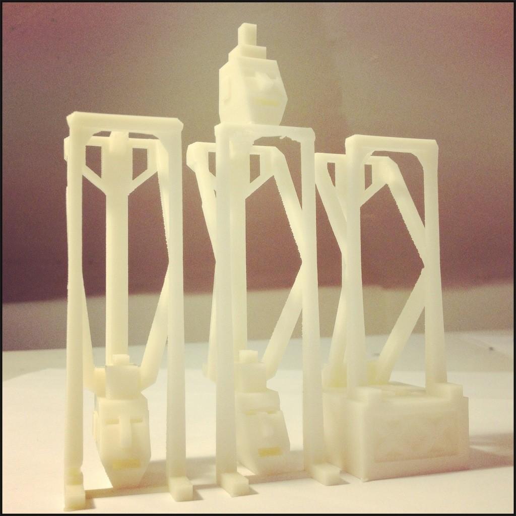 2013-01-01_04.31.30_display_large.jpg Download free STL file Stackable Bisj Anchestral Sculpture • 3D print template, Slagerqod