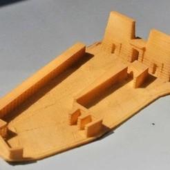 Free STL file My Philae Temple(1:1000), tokyovirtualworld